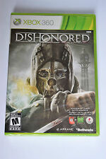 Dishonored (Microsoft Xbox 360, 2012) Brand New Y-Folds