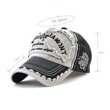 Basecap Baseball Cap Hute Herren Damen Retro Verstellbar Schirmmütze Stickerei