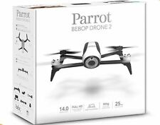 Parrot Quadcopter Bebop 2 Drone 14MP Fish-Eye Camera HD Up to 1080p (White)