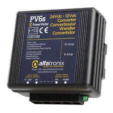 Alfatronix PV6S 24VDC a 12VDC Convertidor no aislado (Común Tierra)