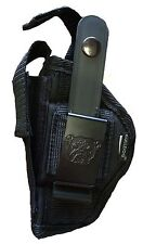Sig Sauer P-290 Gun Holster With Extra Mag Holder - Right Or Left Handed Use