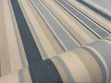 2m X Laura Ashley Awning Stripe Seaspray Fabric (per Metre) 😊
