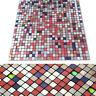 3D Wallpaper Sticker Tile Brick Self-adhesive Mosaic Kitchen Bathroom Home Decor