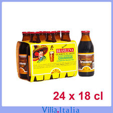 Bibita calabrese al caffè Brasilena  Gassosa  24 bottiglie da 18 cl