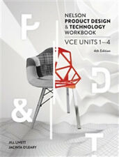Nelson Product Design and Technology VCE Units 1 ' 4 Workbook by J. Livett, J. O'Leary (Paperback, 2017)