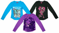 Crew Neck Long Sleeve 100% Cotton T-Shirts & Tops (2-16 Years) for Girls