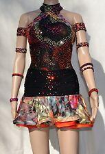 $2,230.00 DORE Exquisite Gowns Custom Rhythm Latin Ballroom Dress Size XS/S