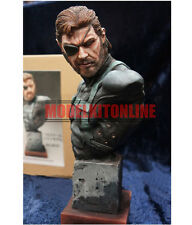 BIG BOSS SOLID SNAKE METAL GEAR SOLID 1/5 UNPAINTED BUST RESIN FIGURE MODEL KIT
