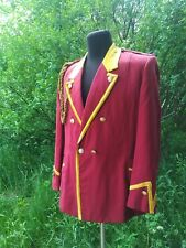 Military USSR Army Musicant Jacket Tunic Uniform Size: L