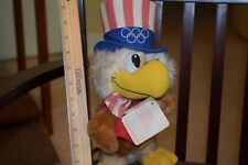 Collectible Olympic 1984 Uncle Sam Toy With Tag, Fur Dusty