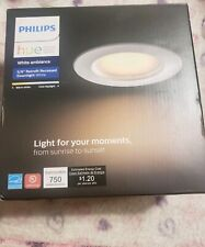 """5/6"""" PHILIPS HUE Personal Wireless Lighting White Ambiance Recessed Downlight"""
