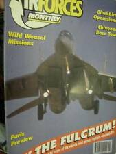 Air Forces Monthly July 1993- Blackbird Ops/Chivenor Base/Blue Nose Herks In Art