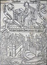 INKUNABEL AUGUSTINUS AURELIUS De civitate dei AMERBACH BASEL ANNOTATIONEN 1490