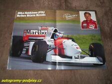 Mika HAKKINEN (McLaren /1995/) - Marlboro poster 2xA4 Format