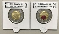 CANADA 2018 New $2 Toonie KIT 100th Ann. Armistice 1918 (UNC From mint roll)