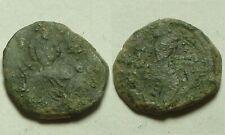 Rare genuine ancient Byzantine coin Tetarteron Manuel I Comnenus cross/St George