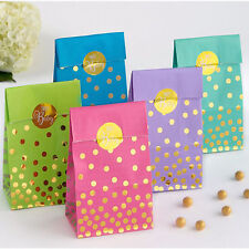 BABY SHOWER Sweet PAPER FAVOR BAGS (20) ~ Party Supplies Treat Loot Goody Unisex