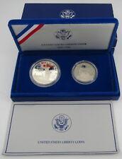 1986 US Liberty Coins Proof Set W/Box & COA, 90% Silver Dollar /Clad Half Dollar