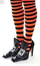 Accessoire Halloween Sorcière Boucle Costume Déguisement Chaussure Housse