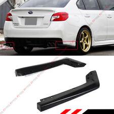 For 2015-2018 Subaru WRX Sti VA1 VA2 2pc HT Style Rear Bumper Side Aprons Spats
