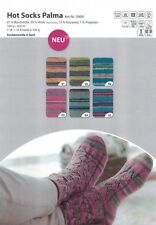 Wollpaket Sockenwolle *Gründl Hot Socks Palma, 6x100g, je eine Farbe im Set, 4f