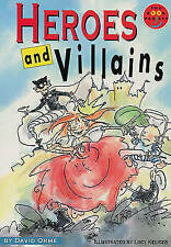 (Good)-Heroes and Villains Literature and Culture (LONGMAN BOOK PROJECT) (Paperb