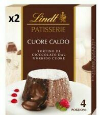 2 x Lindt Patisserie Milk Chocolate Melt in the Middle Lava Cake Mix Box 240g