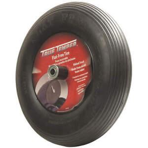 JACKSON FFTCC-GR Wheelbarrow Tire,Ribbed,16 In. Dia.