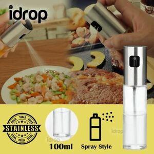 idrop 100ml Kitchen Oil & Seasoning Mini Spray Glass Bottle Dispenser