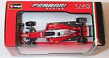 Ferrari SF16-H F1 car Sebastian Vettel 1.43 scale burago