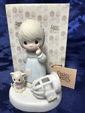 """Precious Moments """"The Lord Giveth And The Lord Taketh Away """" Figurine #100226"""