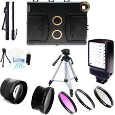 """Melamount Case 37mm HD 2.0x conveter and wide angle lenses kit for iPad Pro 9.7"""""""