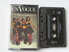 "EN VOGUE ""FREE YOUR MIND"" SINGLE CASSETTE, 1992 EASTWEST/WARNER, PLAY TESTED."