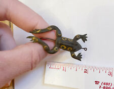 Unknown vintage rubber frog lure 2 1/2� vgc