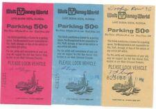 3 Theme Park Tickets