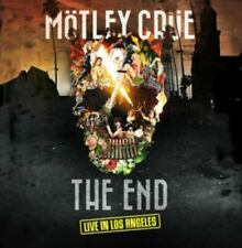 Motley Crue The End Live in Los Angeles DVD With CD R4