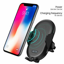 360° Rotation Wireless Automatic Sensor Car Charger Phone Holder For Cell Phone