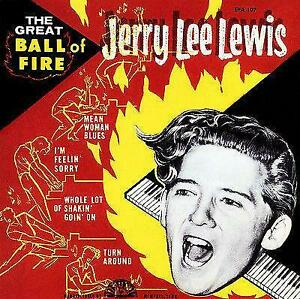 Jerry Lee Lewis - The Great Ball of Fire - 1958  - EP Picture Sleeve Magnet