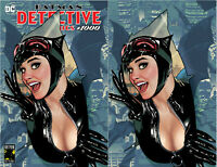 Batman Detective Comics 1000 DC Adam Hughes Catwoman Trade Virgin Set 2 Variant
