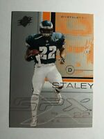 DUCE STALEY 2001 UPPER DECK SPx FOOTBALL CARD # 67 D0391