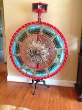 Antique Carnival Derby Horse Casino Game Gaming Wheel of Chance