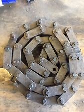"Rexnord C131 Engineered Steel Chain 3.075"" Pitch. 10 Ft"