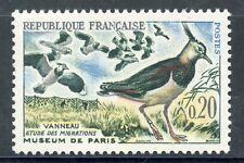 STAMP / TIMBRE FRANCE NEUF N° 1273 ** FAUNE VANNEAUX OISEAUX
