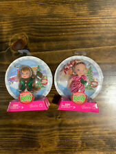 2007 Barbie Happy Holidays Kelly Ornament Lot
