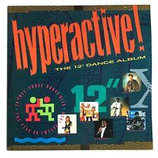 "Hyperactive The 12"" Dance Album Vinyl 2LP Kylie, Taylor Dane Rick Astley Tiffany"