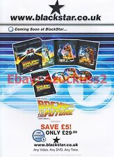 Back To The Future DVD 2002 Magazine Advert #7027