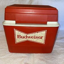 Vintage Gott Budweiser Cooler With Extra Compartment