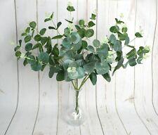 Artificial Green Eucalyptus Foliage Bunch Christmas displays arrangements winter