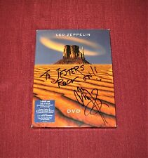 """JIMMY PAGE (Signed) """"LED ZEPPELIN"""" 2-DVD Set - Donated to Charity"""