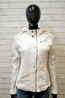 G-STAR Giacca a Vento Bianca Donna Taglia M Blazer Giubbino Jacket Women White